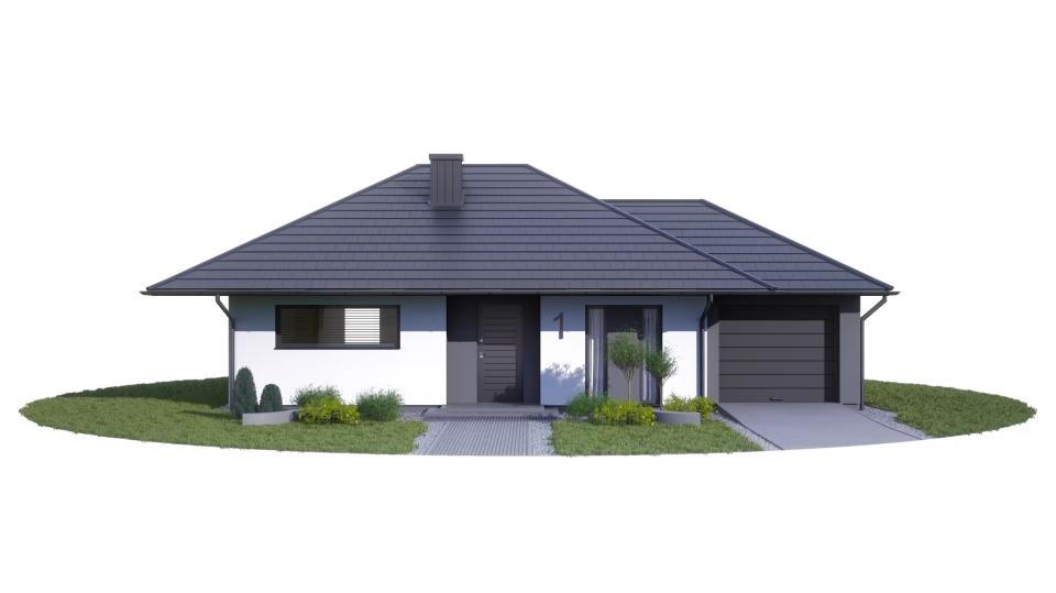 Etap II dz. 60 proj.  nr 1+ garaż